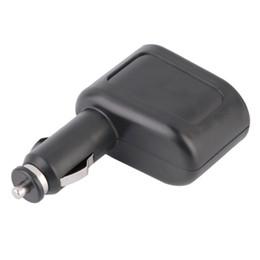 Vente en gros Universel 1x2 Chargeur de voiture USB Alimentation Double Sockets Car Styling accessoires Allume-cigare Extender Splitter