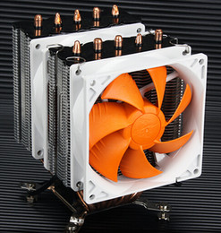 Am3 Fan NZ - Wholesale- For AMD Intel CPU 5 copper heat pipe quiet towers dual Cooling fans radiator supports 775 1150 1155 1156 1366 AM2 AM3 FM2