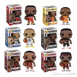 Funko POP Gxhmy Marvel Thrones stella del basket Bryant LeBron Curry Owen Lillard Figurine da parete regalo del giocattolo
