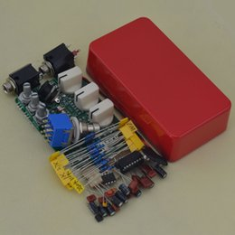 Echo Pedals Australia - Build your own RED Delay-1 Face Pedal DIY box Full Kits DIY Delay-1 PEDAL Box