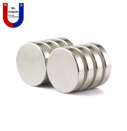 neodymium disc magnets UK - wholesaler 10pcs super strong 25x5 magnet 25*5 N35 permanent rare earth magnet 25mm x 5mm industry neodymium magnet D25x5mm
