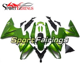 kawasaki body kits Australia - Full Fairing Kit For Kawasaki ER-6f Ninja 650 09 10 11 ER6f 2009-2011 ABS Plastic Motorcycle Fairing Kit Body Frames Gloss Green Carenes