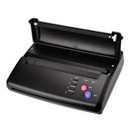 Принтер для печати татуировки Принтер для рисования Термический трафаретный копировальный аппарат для бумаги для переноса татуировки Черный и серебристый Цвет для профессионалов