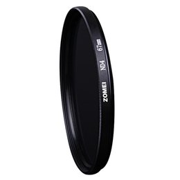 China Professional Zomei 62mm ND ND2 ND4 ND8Filter Neutral Density Filters Densidade Neutra Protector Filtro for Canon Nikon Sony Camera Lens suppliers
