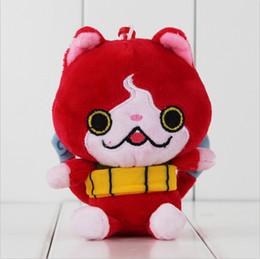 $enCountryForm.capitalKeyWord NZ - 11cm Anime Yo-Kai Watch Busters Cat Plush Soft Stuffed Doll Toy for kids children gift toy free shipping EMS
