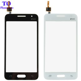 Samsung Duos Touch Screen NZ - 4.5 inch Touch Screen For Samsung Galaxy Core 2 G355H G355 Touch Screen Panel Digitizer Glass With Duos