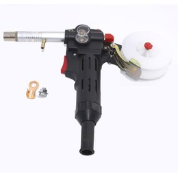 online shopping MIG welding machine Spool Gun Push Pull Feeder Aluminum copper or stainless steel DC V Motor Wire mm Welding Torch