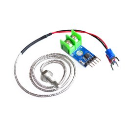 ics 2018 - Wholesale-MAX6675 Module + K Type Thermocouple Thermocouple Sensor for Arduino cheap ics