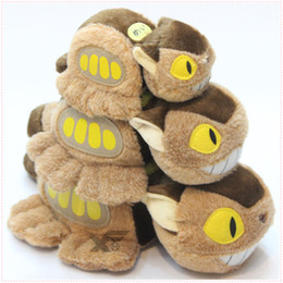 China Hot Sale 3 Size 15-30cm My Neighbor Totoro Cat Bus Plush Doll Stuffed Toy Gifts for kids Wholesale cheap cat dolls for sale suppliers