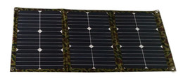 $enCountryForm.capitalKeyWord Canada - 54 Watt Frameless Fabric Portable Folding Solar Panel Charger Kit for 12V Battery for RV Camper Caravan