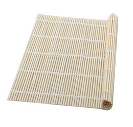 Hot rolled online shopping - Hot Kitchen Accessories Sushi Tools Rolling Roller Bamboo Material Mat Belt Spoon Easy To Use Hot Sale tt J R