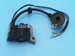 Garden Tools Hedge Canada - Ignition coil for Zenoah G23L G23LH HT2300 2300 G26L 22.6CC Hedge trimmer free shipping replacement part # T1700-71201