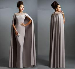 Venta al por mayor de Noble Arabia Vestidos de noche vintage Joya Cuello escarpado con tren de Watteau Vestido de fiesta con apliques Funda por encargo Vestidos de fiesta formales
