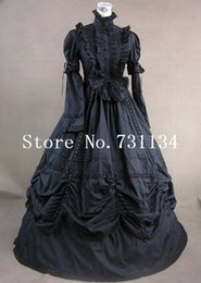 $enCountryForm.capitalKeyWord NZ - Direct Selling Sale Natural Floor-length Vintage Renaissance Victorian Gothic Dress Southern Belle Ball Gown Dress Customized