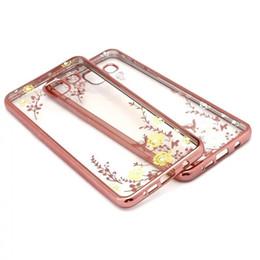 Discount secret iphone - Bling Diamond Secret Garden Flower Soft TPU Case For Iphone 7 6 6S Plus  SE 5 5S Galaxy A5 A7 J5 J7 S6 Edge Plus Metalli