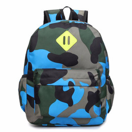 kids backpacks sales Canada - Hot Sale Classic Camouflage Printing Children 'S Bag Personality Backpacks Primary Kids Bags Mini School Bag Escolar