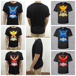 Poliéster Caliente Camisetas Baratos-2016 Hot Sale PokéMon Go Camisetas Tops Pocket Monster Camisetas Pokeball Men Gym Pullover Poliester Short Sleeve Ropa