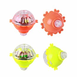 China Kids Toys LED Gyro Light Glow Gyro Toys Friction Tops Spinning Tops of Children Kid Toys Gift supplier friction toys suppliers