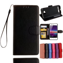 Iphone Ii Canada - Wallet Flip Leather Pouch Case For Iphone 7 7PLUS Huawei P9 PLUS Honor 5X 5C Y3 Y5 Y6 II 5A Y625 Strap TPU Stand ID Card Photo Leechee Cover