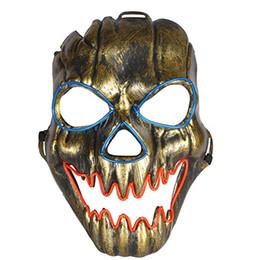 $enCountryForm.capitalKeyWord UK - Light Up Mask Creepy Face LED Glowing for Halloween Rave Costume Party