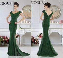Short Green Formal Dress