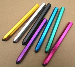 $enCountryForm.capitalKeyWord Canada - High Quality 10pcs lot High-grade Stylus Pen Mobile Phone Tablet Universal Smart Pen Touch Screen Pen Papelaria