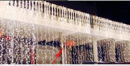 $enCountryForm.capitalKeyWord Australia - 10Mx3M 1000LED Curtain Light Outdoor Christmas String Fairy Lights Wedding backgrounds Party Ball Hotel Shows Decoration 220V 110V