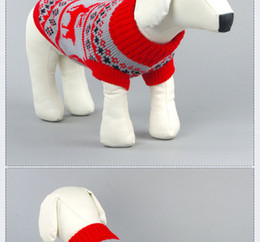 $enCountryForm.capitalKeyWord Australia - Manufacturers selling new pet sweater dog enough clothes color optional pet clothing wholesale