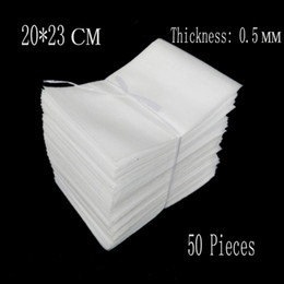 Discount eva foam bags - Wholesale-20*23cm 0.5mm 50Pcs EPE Protective Bags Packing Wrap Polietileno Insulation Board Eva Foam Sheet Cushioning Ma