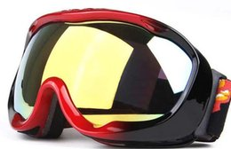 $enCountryForm.capitalKeyWord UK - Moq=1pcs TOP Quality Skiing Motorcycle Goggle Outdoor Sports Sunglasses Windproof Antifog Sphere HD Lens Snow Glasses 3 Colors Free Shipping