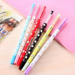 $enCountryForm.capitalKeyWord Canada - Cute 20pcs lot New Promotion Gift Gel Pen with bling Diamond Crystal Stationery Canetas escolar material School Supplies Papelaria