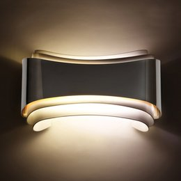 modern beds Australia - modern 5w led wall lights foyer bed dining living room lamp led bathroom lights bedside light indoor wall mounted lamps