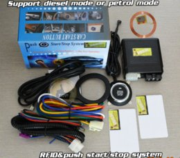 Immobilizer System Canada - FID smart car alarm,immobilizer engine automatically,RFID induction technology,special long push button start system,CE pass alarm system...