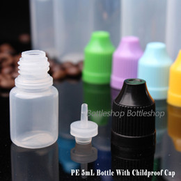 Wholesale Electronics Prices NZ - Best Price PE Soft Plastic Needle Bottle 5ml Empty Plastic E Liquid Bottles With Child proof Caps For E juice Electronic Cigarette