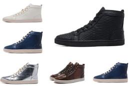 ac66dd30700 2016 nuevas zapatillas de moda de cuero negro de serpiente superior para  hombre y mujeres, amantes de los zapatos casuales de lujo de invierno 36-46