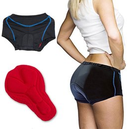 Barato Mulheres Azuis Underwear-YKYWBIKE Mulher ciclismo underwear shorts bicicleta bicicleta Nova Riding Raccing roupas Undershorts KTM Roupa azul Calças Tight Red Pad S-XXXL