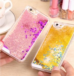 5s china phone online shopping - China Mobile Phone Cover D Liquid Sand Phone Case for iPhone s Se Quicksand Phone Case