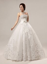 $enCountryForm.capitalKeyWord Canada - Wedding Dresses Sexy Masquerade Ball Maxi Gown Long Bridesmaid Party Cocktail Dress Ivory White Lace Embroidery Strapless Gown