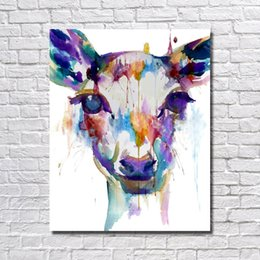 Funny Picture Animal Canada - Free shipping funny animal pictures no wooden frame canvas art for living room wall decor wild animal oil painting