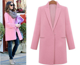 Womens Pink Long Wool Coats Online | Womens Pink Long Wool Coats ...