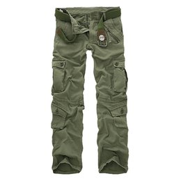 $enCountryForm.capitalKeyWord UK - Good Quality Military Cargo Pants Men Hot Camouflage Cotton Men Trousers 7 Colors