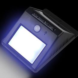 Free ip online shopping - DHL leds solar wall lights LED outdoor solar wall light IP waterproof landscape wirelss PIR sensor lighting