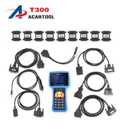 toyota auto key programmer Canada - T300 Key Programmer 2016 Latest English Or Spanish V14.02 Professional Auto Key Maker Free Shipping