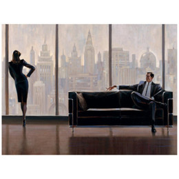 $enCountryForm.capitalKeyWord NZ - Decorative wall paintings modern landscapes Brent Lynch Pensive New York art for wall decor hand-painted oil on canvas