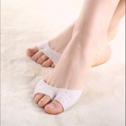 Couvre-dents De Ballet Pas Cher-Stylish 2015 pieds soins Professional Silicone Gel Pointe Toe Cap Cover enfants fille Soft Pads Protectors pour Pointe Ballet Shoes Nouveau