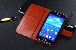 housse de protection galaxy grand achat en gros de-news_sitemap_homePour Samsung I9082 Couverture De Cas De Luxe Original Mignon Dur Flip Flip Étui En Cuir De Protection Pour Samsung Galaxy Grand NEO I9060 I9082