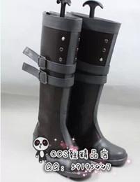 Discount cos shoes - Wholesale-Million Arthur kaku san sei million arthur Morgause cos Cosplay Shoes Boots shoe boot #JZ334 anime Halloween C