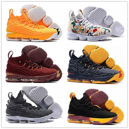7dd5da79c55bb Discount lebrons 12 shoes 2017 Lebron 15 Basketball Shoes Lebrons shoe  Arrival LBJ mens Sneakers 15s