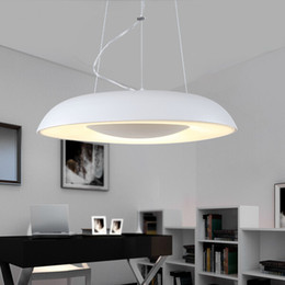 $enCountryForm.capitalKeyWord Canada - Free shipping Modern LED pendant lights for dining room Dia*430mm 24W home pendant lamp fixtures indoor use