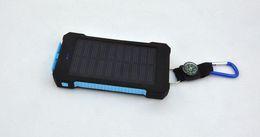 20000 mAh universel 2 ports USB chargeur de banque d'énergie solaire externe batterie de secours avec boîte de détail pour iPhone Samsung chargeur de téléphone portable